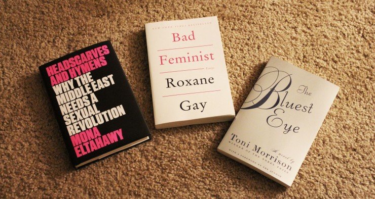 The books I bought over the weekend. Photo taken by me.